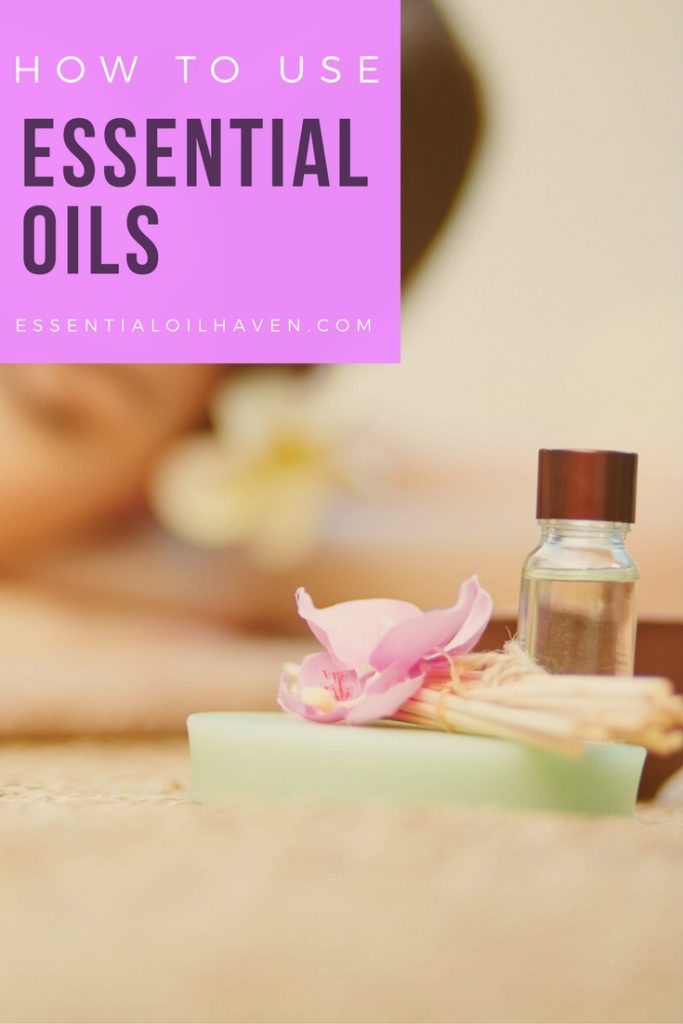start using essential oils