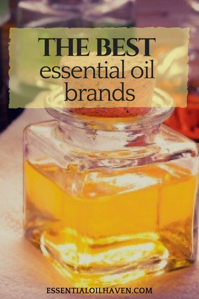 the best essential oil companies