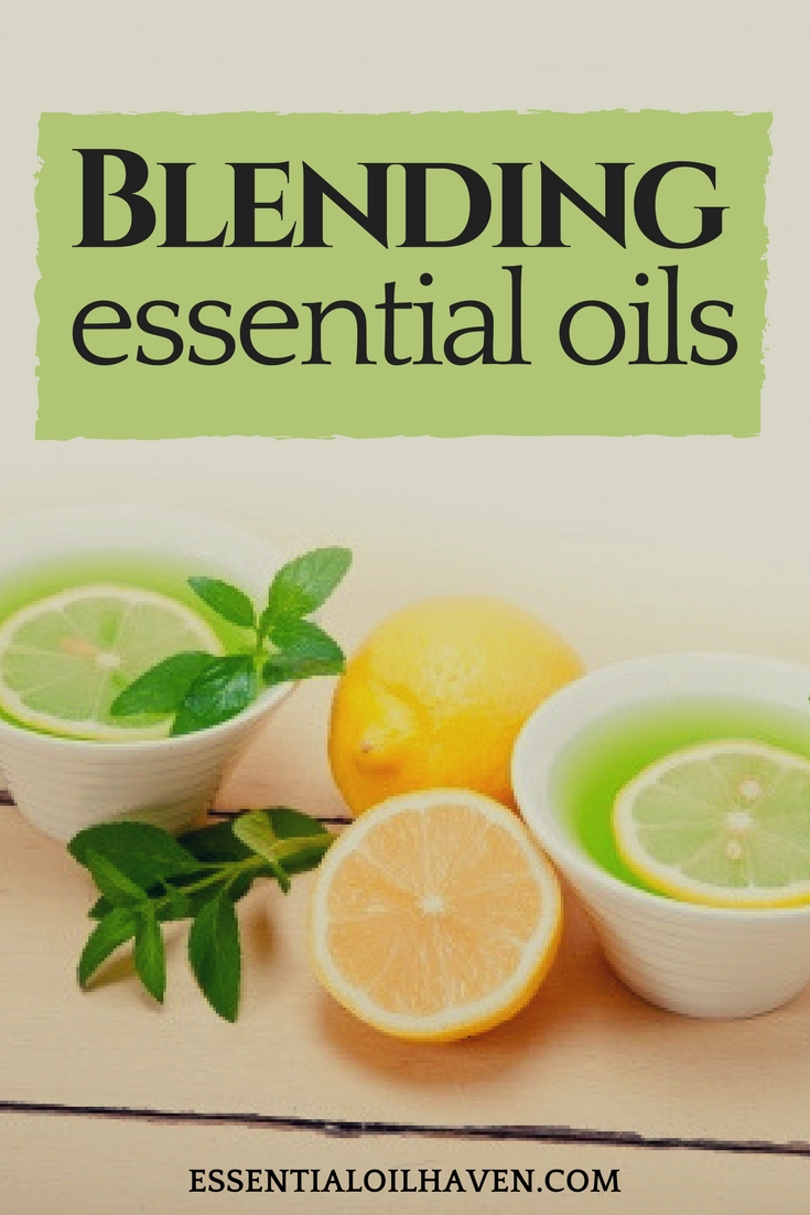 blending essential oils