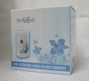 BriteLeafs 2-in-1 Ultrasonic Aroma Oil Diffuser
