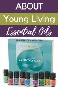 young living essential oils company