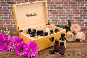 Essential Oil Storage Wooden Box