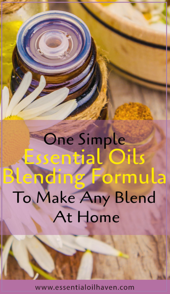 essential oils blending