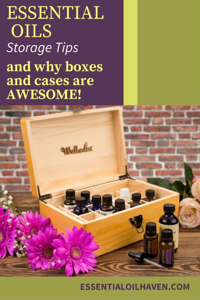 Essential Oil Storage Tips Plus Best Wooden And Fabric Storage Cases