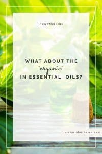 organic essential oils guide