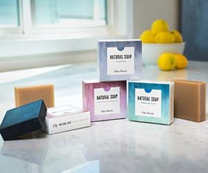 EG natural bar soaps