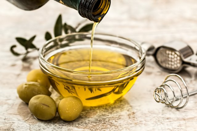 olive oil carrier oil