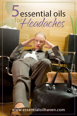 5 essential oils for headaches