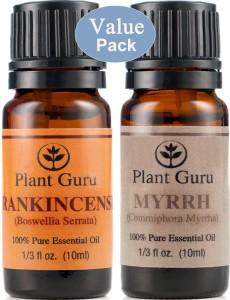 frankincense and myrrh essential oils value pack