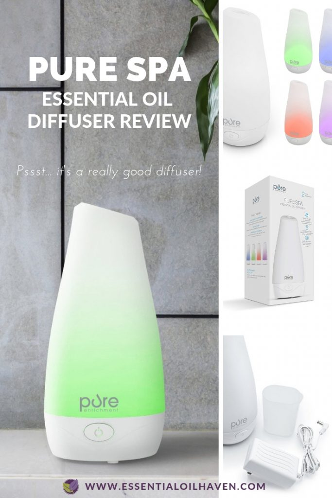 pure spa essential oil diffuser review and rating