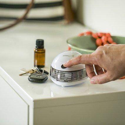 A portable essential oil diffuser, the GreenAir Scent Pod