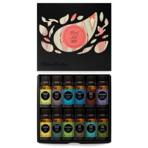 edens garden essential oil set first aid
