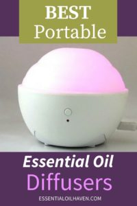 best portable essential oil diffusers on the market today