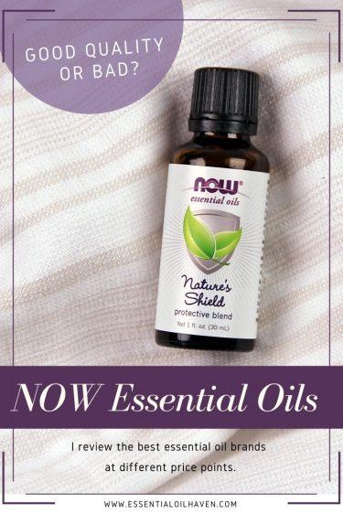 now essential oils brand review