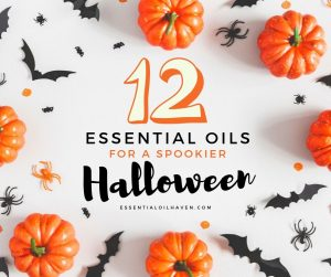 12 essential oils for halloween