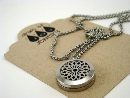 Drops of Joy Signature Sunburst Diffuser Necklace (22)
