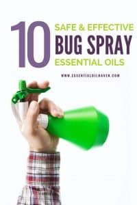 how to make bug spray at home