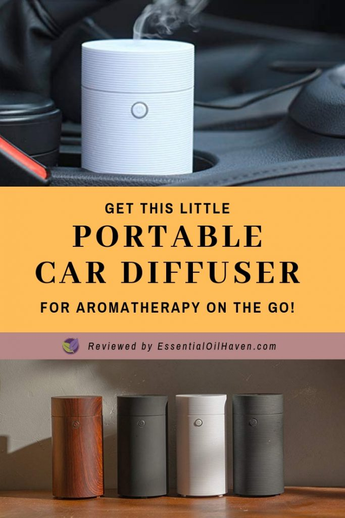 best essential oil diffuser for your car cup holder