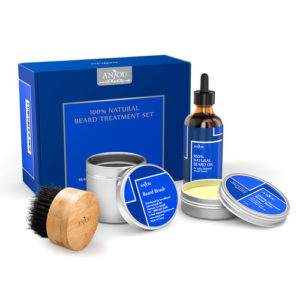 anjou beard oil gift set for men