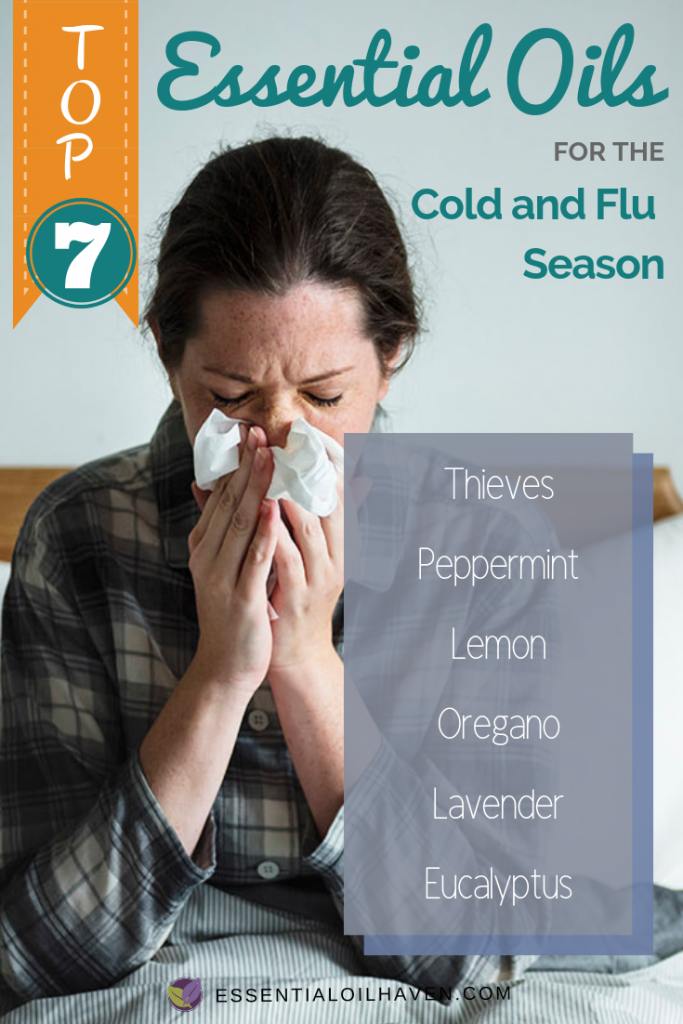 Top 7 Essential Oils for Cold and Flu Season