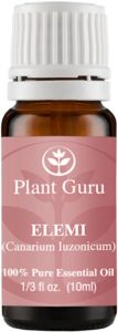 plant guru elemi essential oil 100% pure therapeutic grade