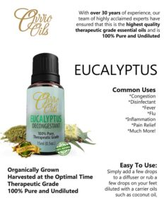 ovvio eucalyptus essential oil uses