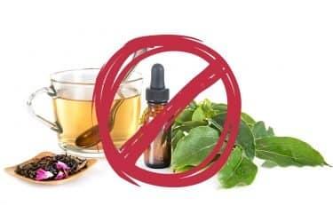 don't ingest essential oils