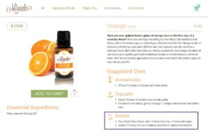 can I ingest essential oils