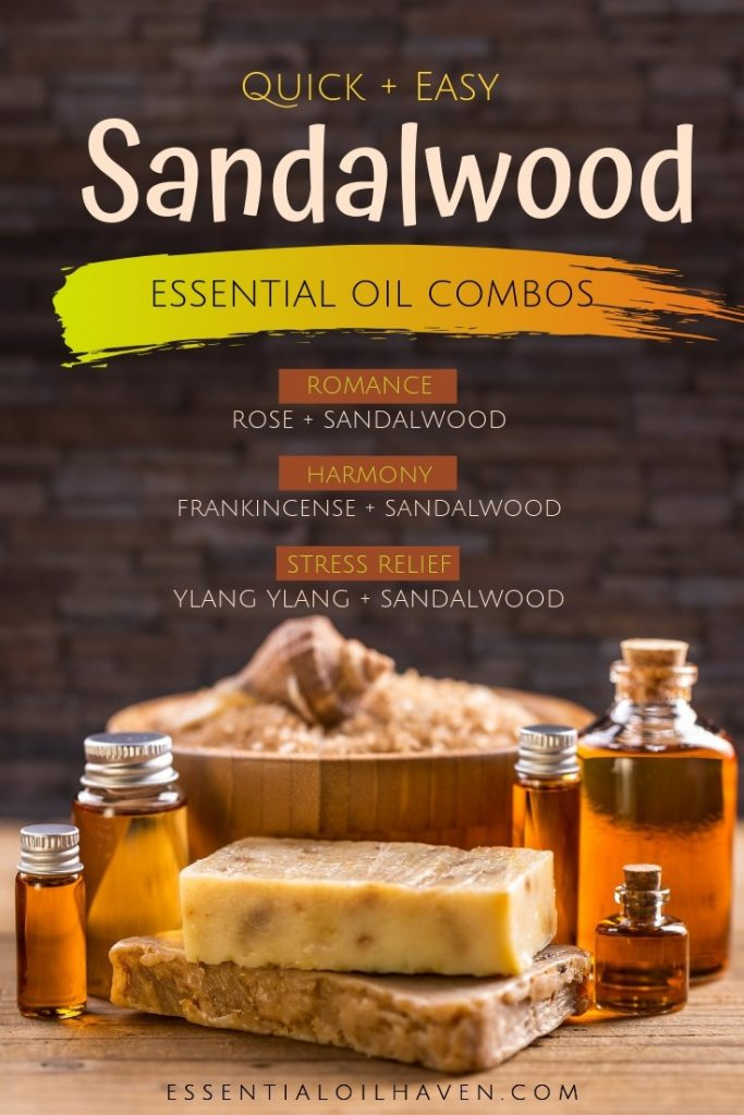 sandalwood essential oil combinations