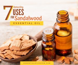 uses and benefits of sandalwood essential oil