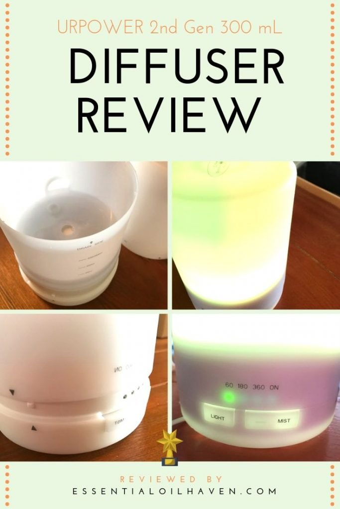 URPOWER diffuser review