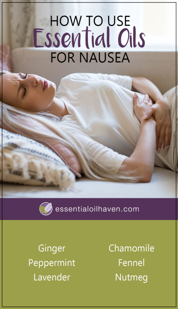 essential oils for nausea, vomiting, morning sickness