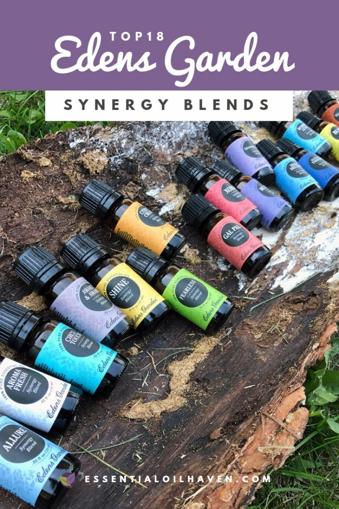 Edens Garden Synergy Blends Review - 18 New Blends!