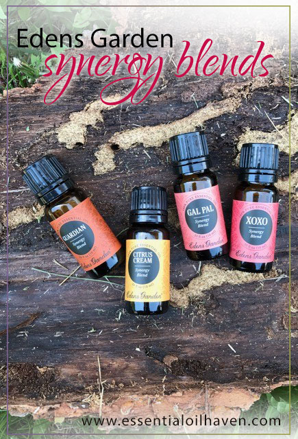 edens garden essential oils synergy blends