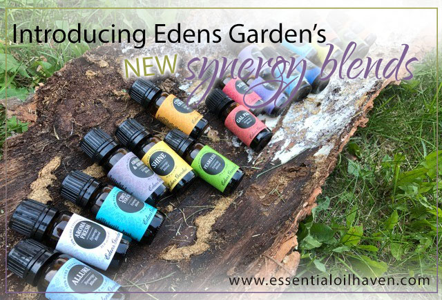 edens garden new synergy blends