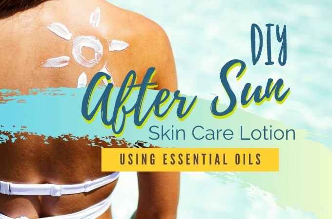 after sun skin care lotion recipe