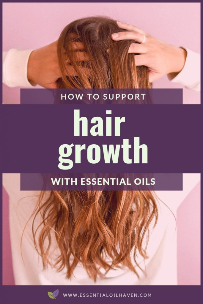 essential oils hair growth support