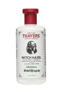 witch hazel for after sun skin care