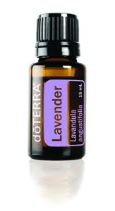 doTerra lavender essential oil bottle