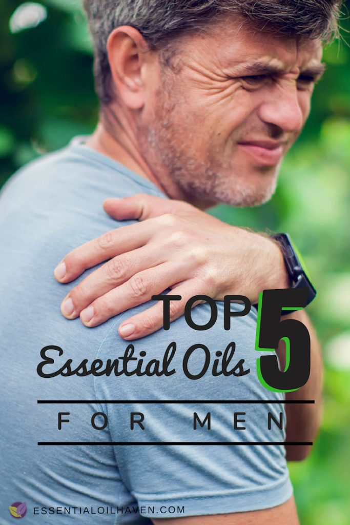 How to Use Essential Oils for Sore Muscles and Muscle Spasms in Men.