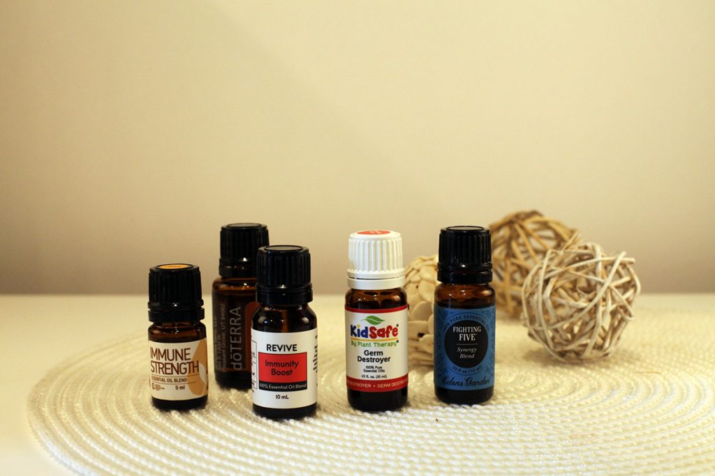 what oils are in thieves essential oil