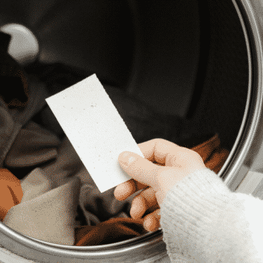 using laundry strips