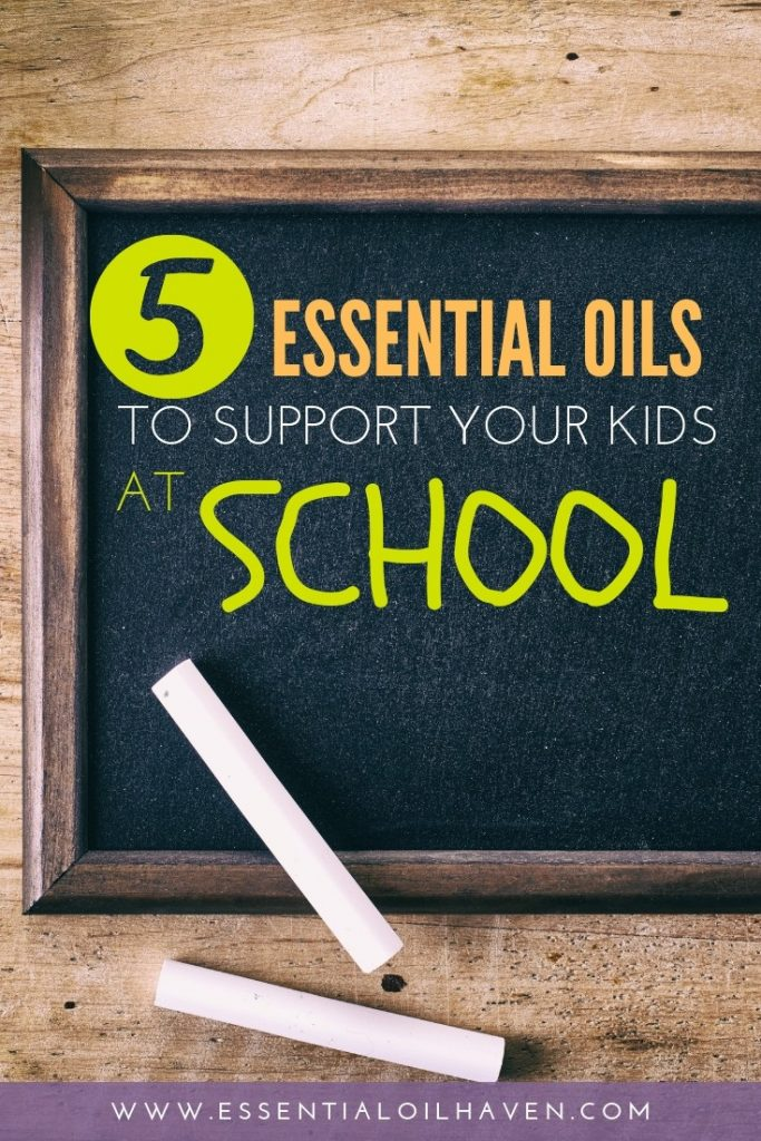 essential oils for kids in school