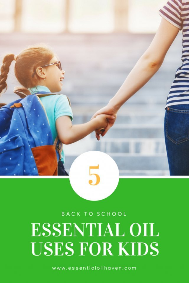 essential oils for school aged children