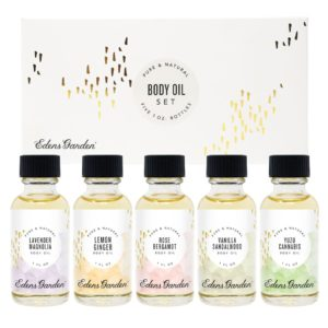 edens garden body oil sampler set