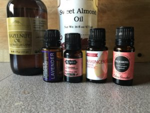 essential oils blend for dry mature skin