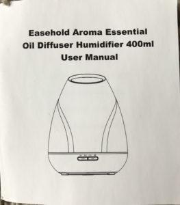 diffuser user manual