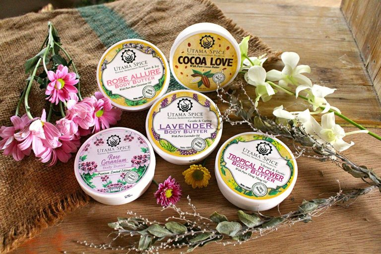 handmade body butter with essential oils