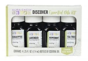 aura cacia essential oil starter kit
