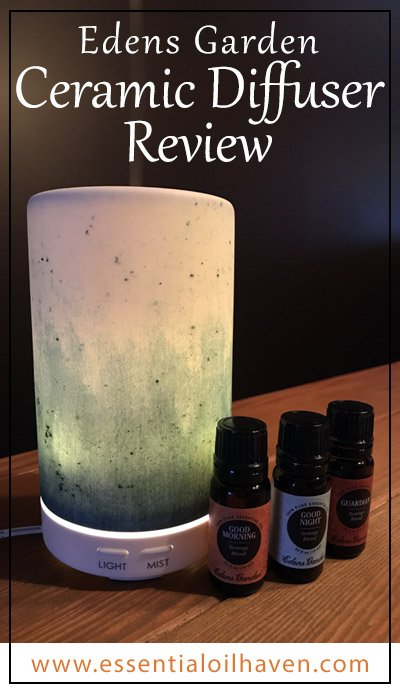 edens garden ceramic diffuser review